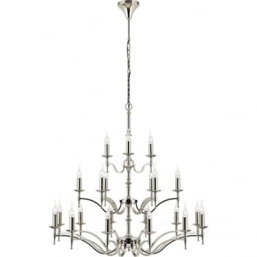 Stanford 21 light pendant - Nickel