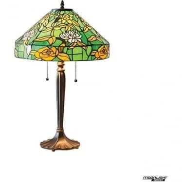 Tiffany Glass Agapantha medium table lamp