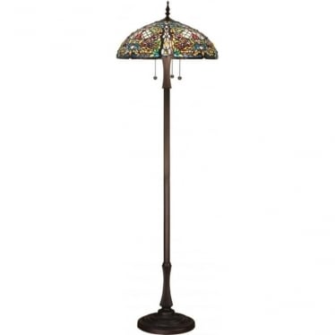 Tiffany Glass Anderson floor lamp