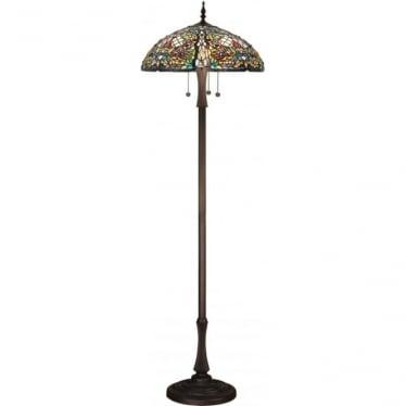 Tiffany Glass Anderson floor lamp