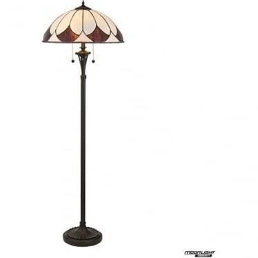 Tiffany Glass Aragon floor lamp