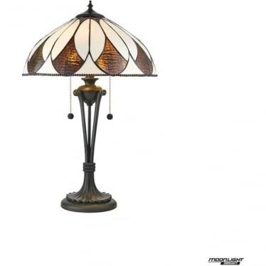 Tiffany Glass Aragon Medium table lamp
