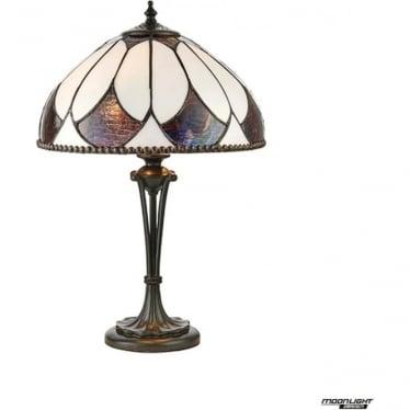 Tiffany Glass Aragon small table lamp