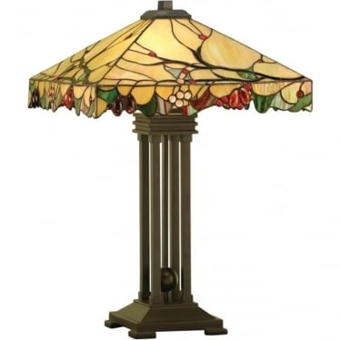 Tiffany Glass Arbois table lamp