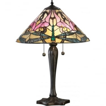 Tiffany Glass Ashton medium table lamp
