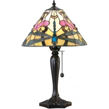 Tiffany Glass Ashton small table lamp