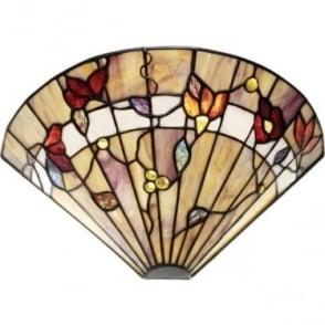 Tiffany Glass Bernwood single wall fitting