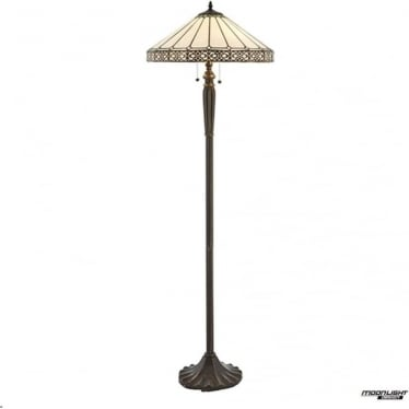 Tiffany Glass Boleyn floor lamp