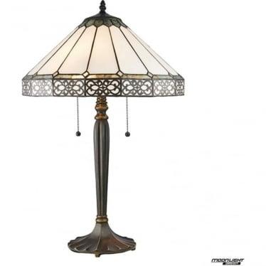 Tiffany Glass Boleyn medium table lamp