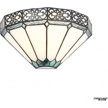 Tiffany Glass Boleyn wall light
