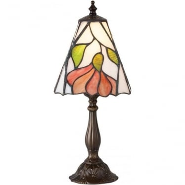 Tiffany Glass Botanica small table lamp