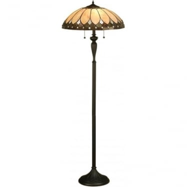 Tiffany Glass Brooklyn floor lamp