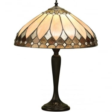 Tiffany Glass Brooklyn medium table lamp