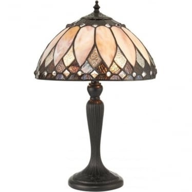 Tiffany Glass Brooklyn small table lamp