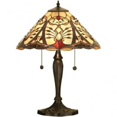 Tiffany Glass Chatelet medium table lamp