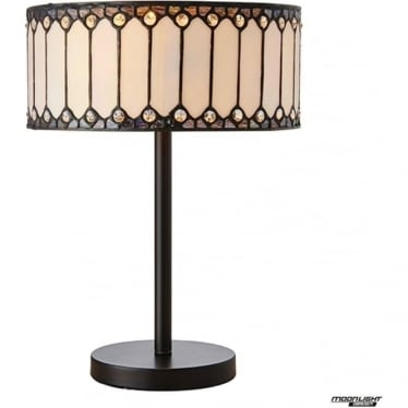 Tiffany Glass Fargo medium table lamp