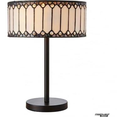 Tiffany Glass Fargo medium table lamp