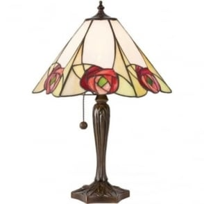 Tiffany Glass Ingram medium table lamp