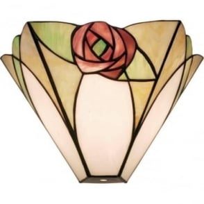 Tiffany Glass Ingram single wall fitting