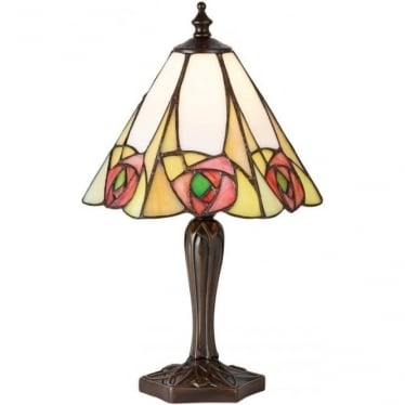 Tiffany Glass Ingram small table lamp