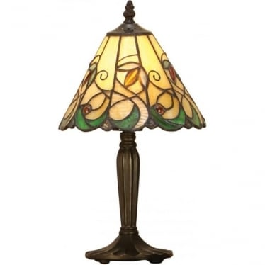 Tiffany Glass Jamelia intermediate table lamp