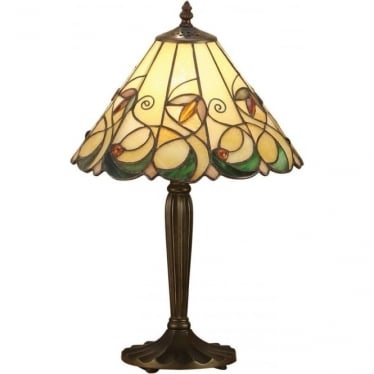 Tiffany Glass Jamelia small table lamp