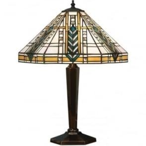 Tiffany Glass Lloyd medium table lamp