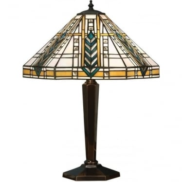 Tiffany Glass Lloyd medium table lamp