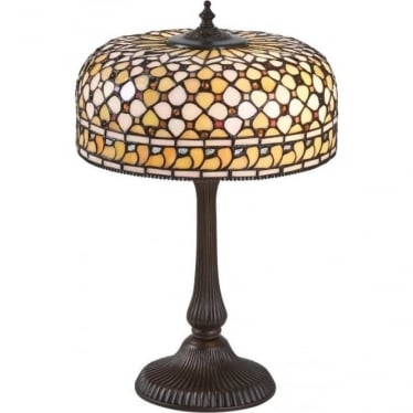 Tiffany Glass Mille Feux medium table lamp