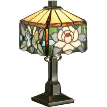 Tiffany Glass Rochette mini table lamp