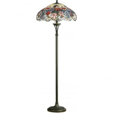 Tiffany Glass Sullivan floor lamp