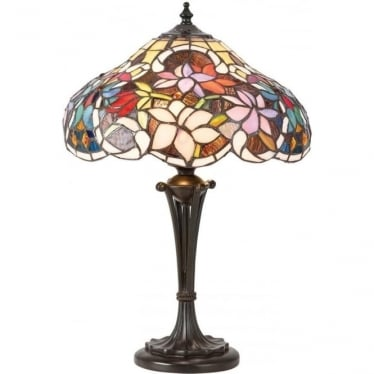 Tiffany Glass Sullivan small table lamp