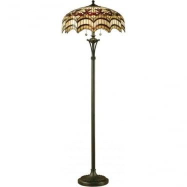 Tiffany Glass Vesta floor lamp