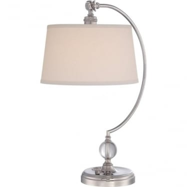 Jenkins Table Lamp Polished Nickel