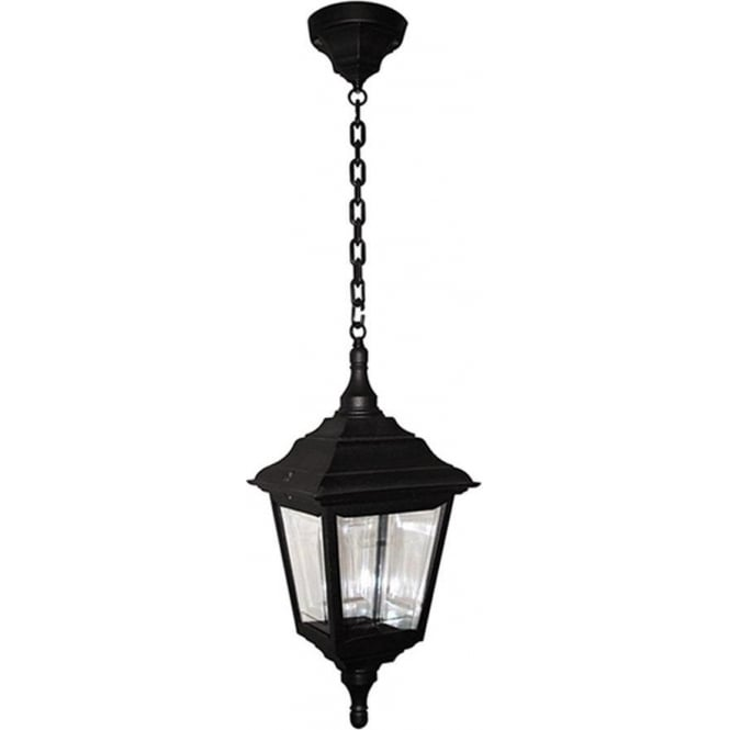 Elstead Lighting Kerry Chain Lantern - Black