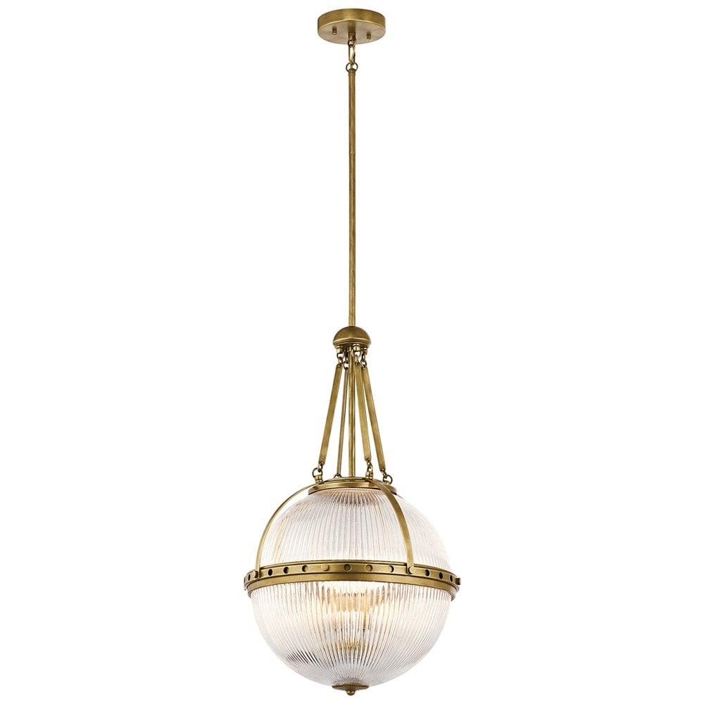 3 light glass pendant stainless steel aster light pendant natural brass kichler light glass pendant from moonlight design