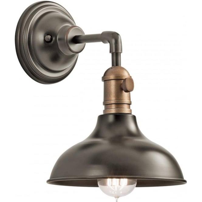 Kichler Cobson Single Mini Pendant/Wall Light Olde Bronze