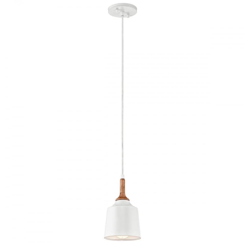 Kichler kichler danika single mini pendant white interior lights danika single mini pendant white aloadofball Gallery