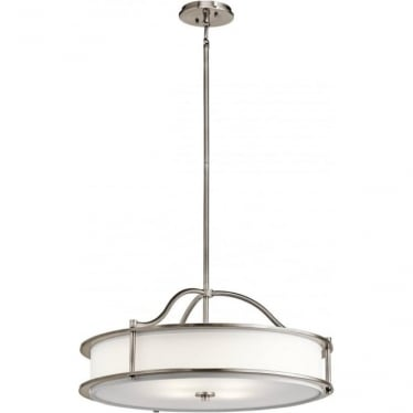 Emory 4 Light Chandelier/Semi Flush Classic Pewter