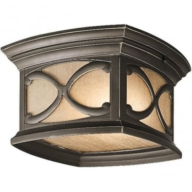 Franceasi flush mount fitting - Bronze