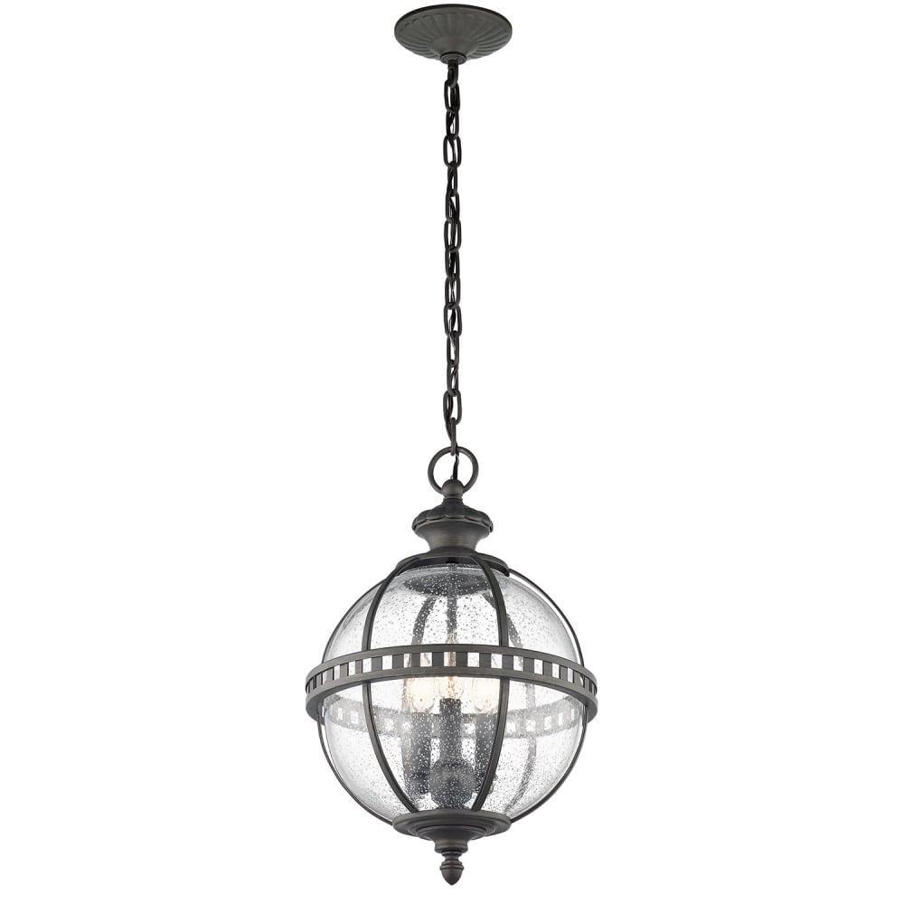 Kichler Kichler Halleron 3 Light Chain Lantern Londonderry Outdoor Lights From Moonlight Design Ltd Uk