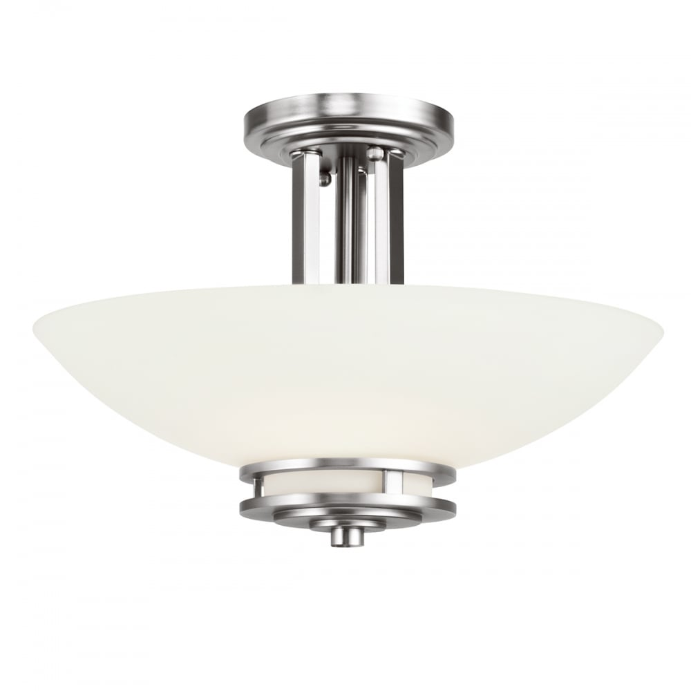 flush mount bathroom lighting kichler kichler hendrik 2 light semi flush mounted 18368