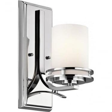 Hendrik Single Light Bathroom LED Wall Light IP44  Polished Chrome