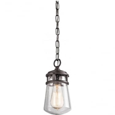 Lyndon small chain lantern - Bronze