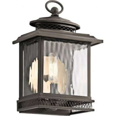 Pettiford Small Wall lantern - Olde Bronze
