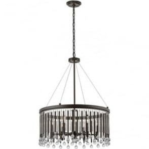 Piper 6 Light Chandelier/Pendant Espresso