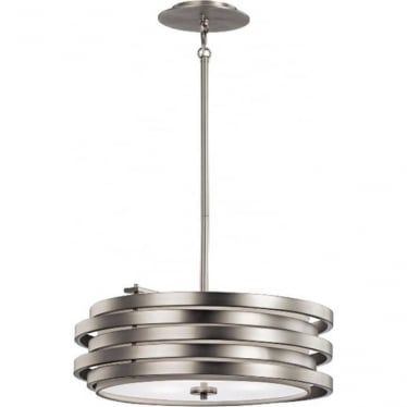 Roswell Pendant Brushed Nickel