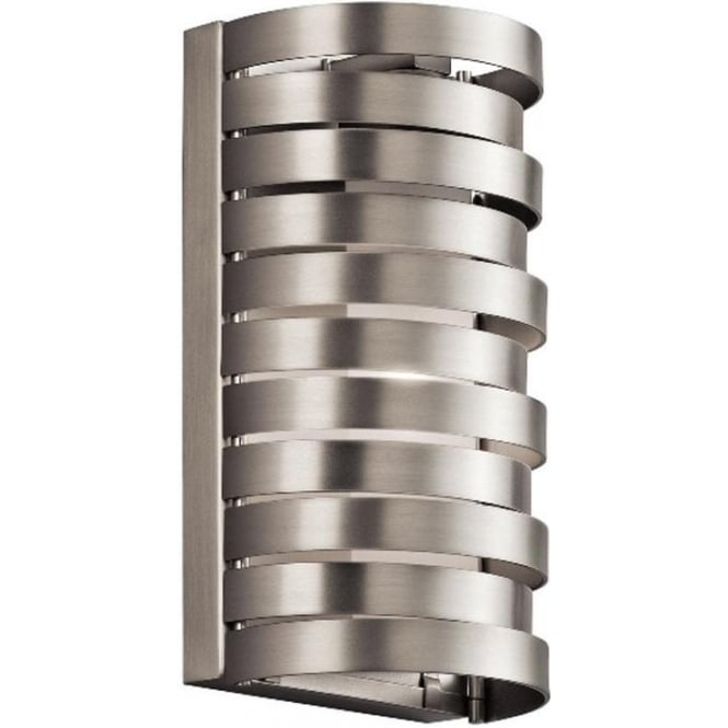 Kichler Roswell Wall Light Brushed Nickel