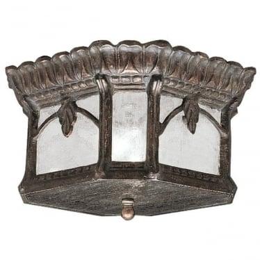 Tournai flush mount fitting - Bronze