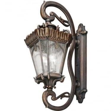 Tournai grand extra large wall lantern - Bronze
